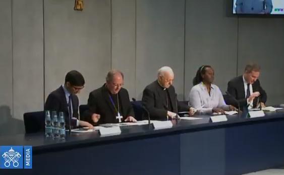Conferencia De Prensa Sobre La Reunión Presinodal, Captura Vatican Media