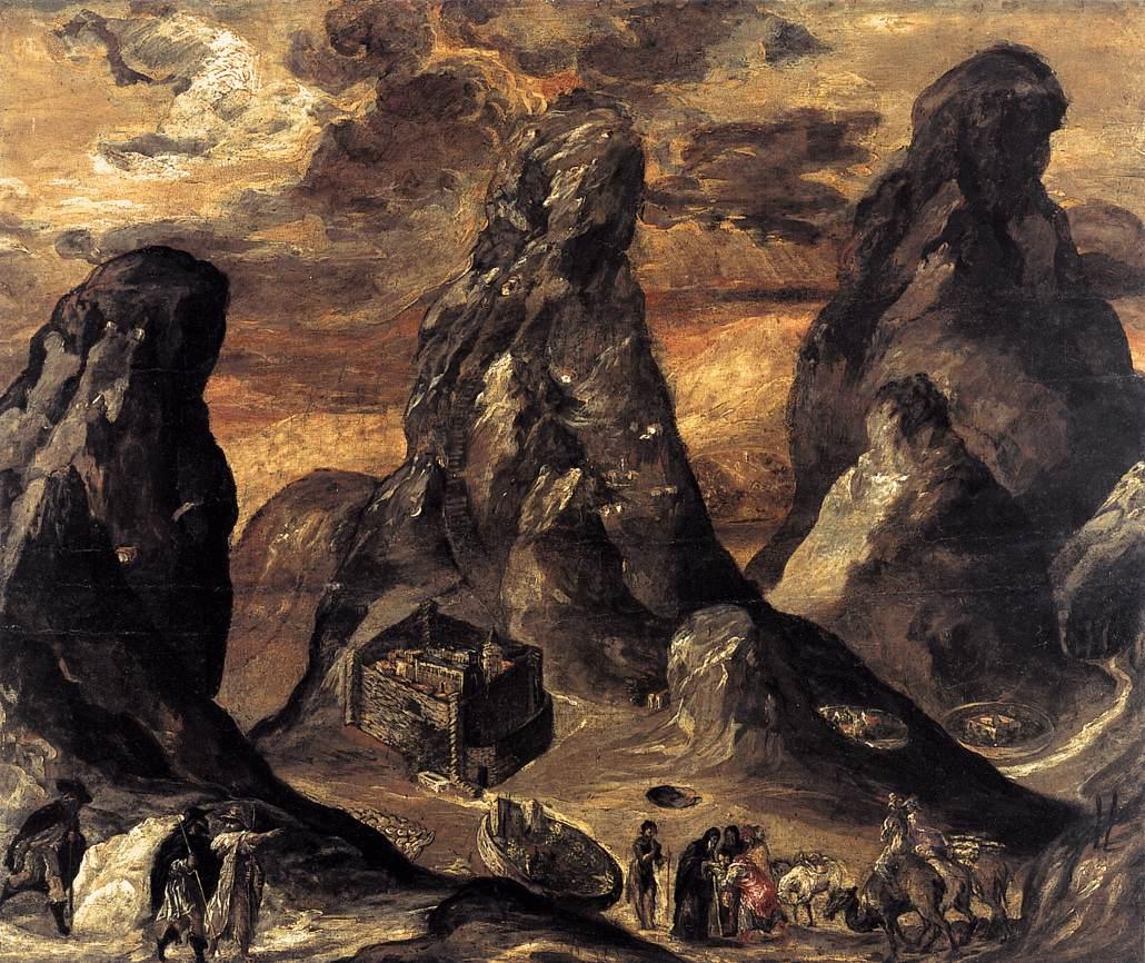 Monte Sinaí, El Greco © Web Gallery of Art