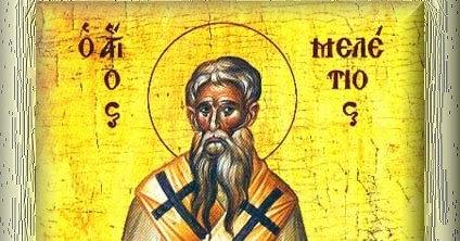 San Melecio de Antioquía © Vidas Santas