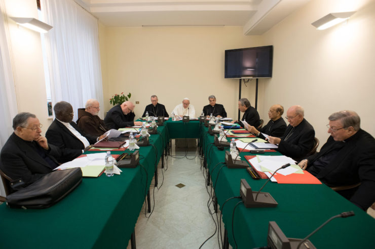 Consejo de Cardenales © L'Osservatore Romano
