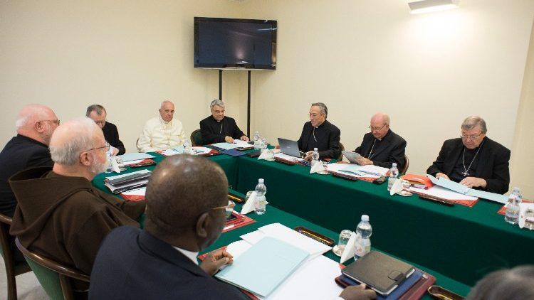 23ª Reunión de Cardenales © Vatican Media