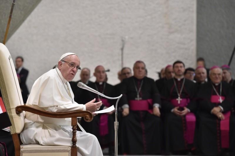 Catequesis del Papa Francisco en la Audiencia General 7/2/2018 © Vatican Media