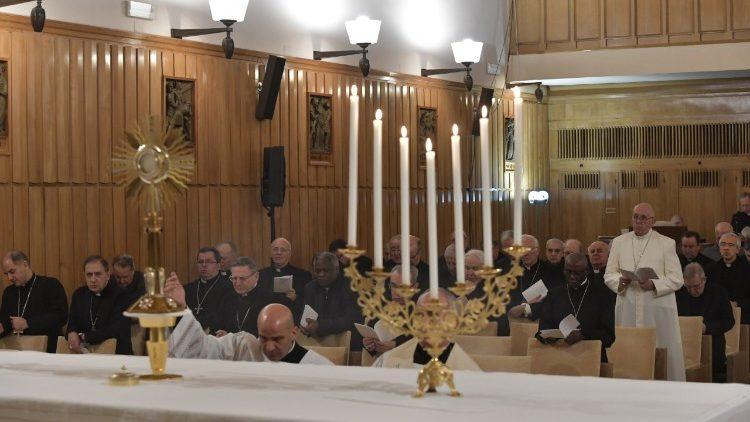 Ejercicios de Cuaresma 2018 © Vatican Media