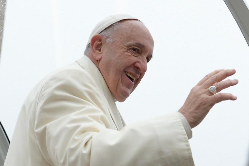 Francisco ha saludado a los peregrinos de lengua árabe © Vatican Media