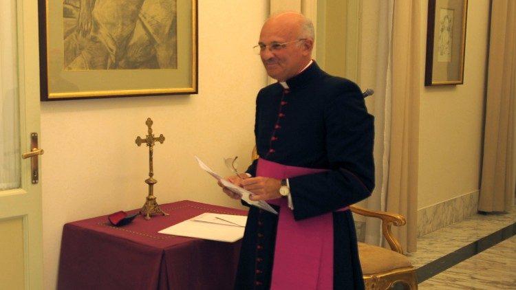Mons. Alfred Xuereb © Vatican Media