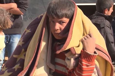 Niño refugiado © Un.org