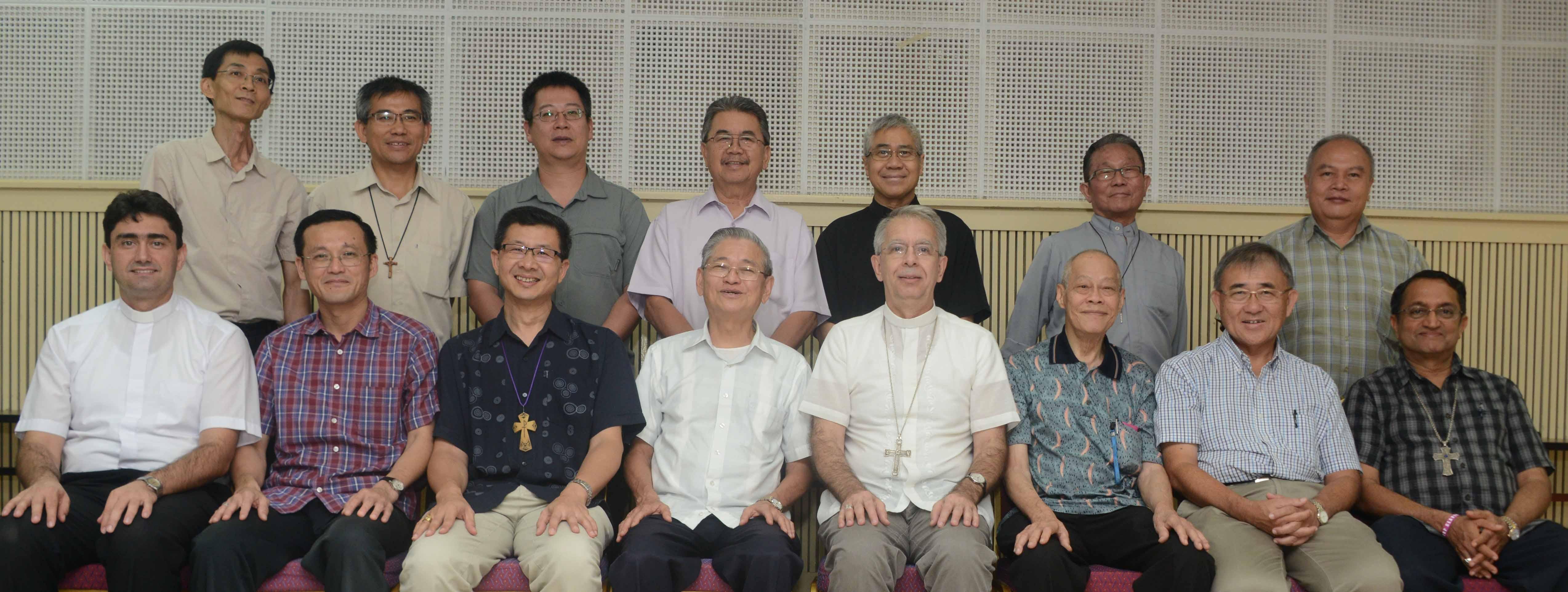 Obispos de Malasia-Singapur-Brunei, 95ª Asamblea Plenaria © Diócesis de Kota Kinabalu