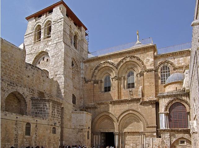 Santo Sepulcro © Wikimedia Commons