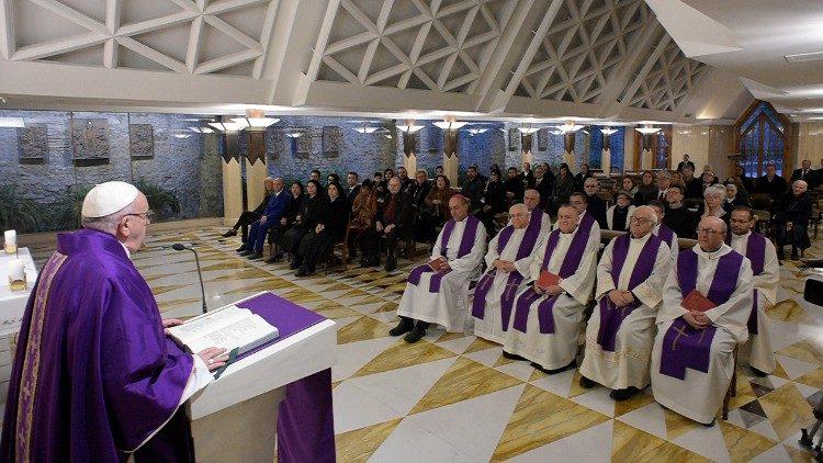Primer viernes de Cuaresma © Vatican Media