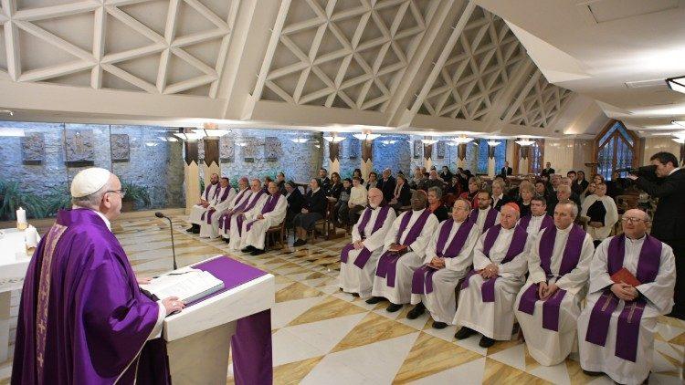 Misa en Santa Marta, 27 de febrero de 2018 © Vatican Media