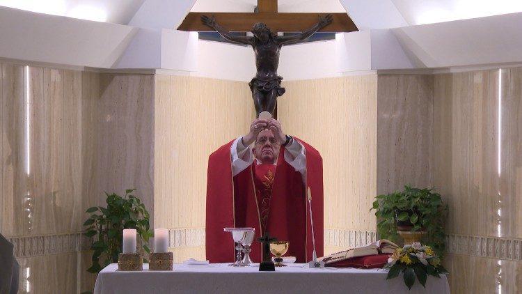 Misa del Papa Francisco en Santa Marta © Vatican Media Vatican Media