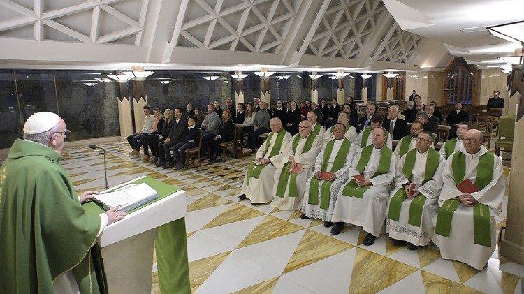 Misa del Papa Francisco © Vatican Media