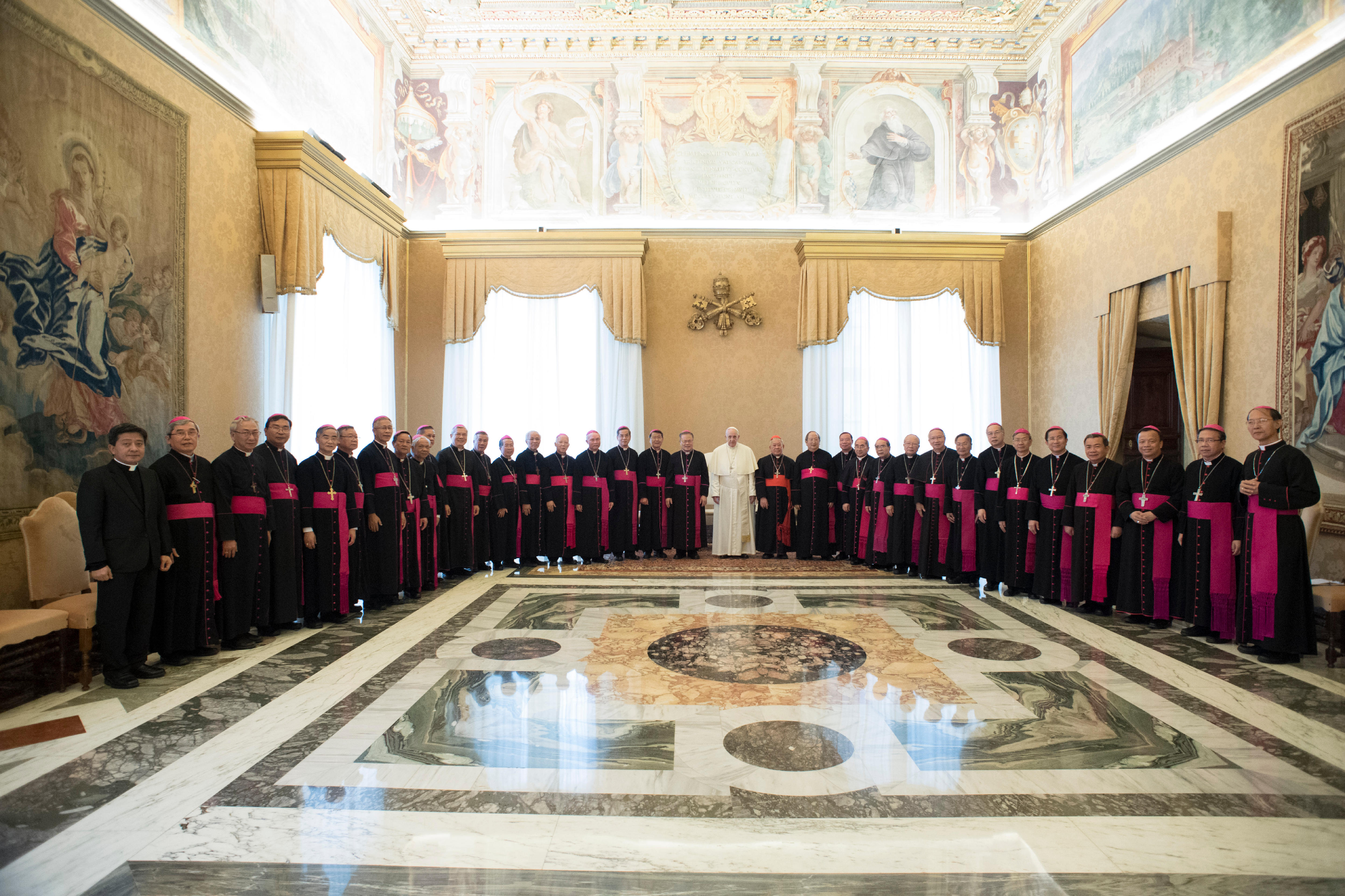 Visita 'ad Limina Apostolorum' de los obispos de Vietnam © Vatican Media