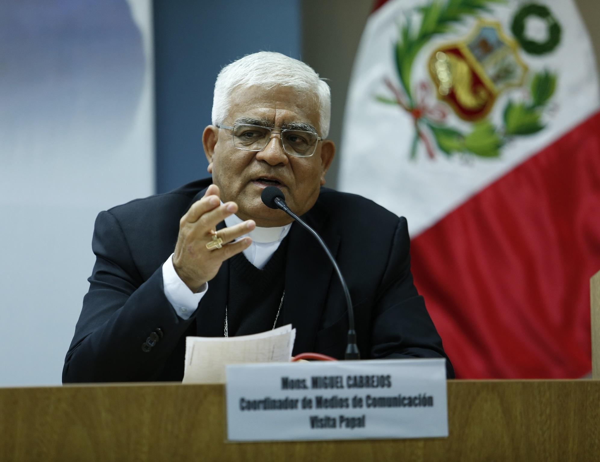 Mons. Miguel Cabrejo, Presidente de la Conferencia Episcopal Peruana © Conferencia Episcopal Peruana