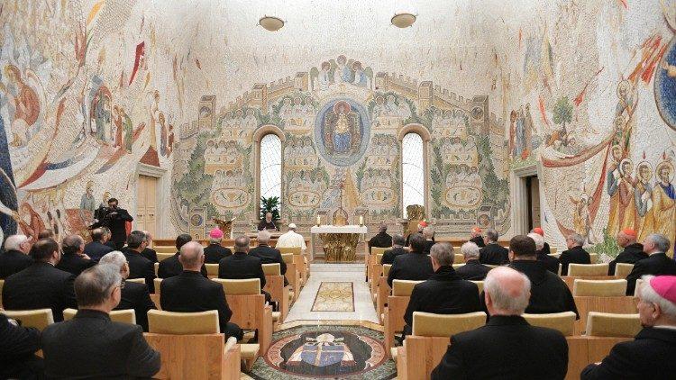 Predicación de Cuaresma del P. Cantalamessa © Vatican Media