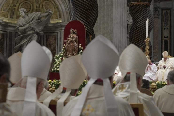 Obispos, Ordenación episcopal © Vatican Media