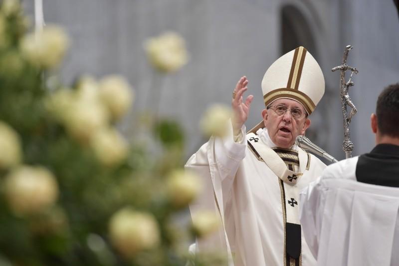 El Papa Francisco ha presidido la Misa Crismal 29/3/2018 © Vatican Media