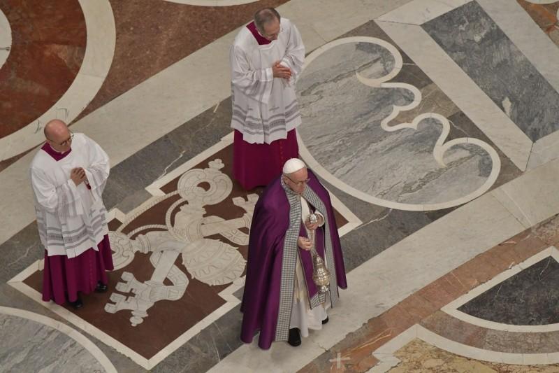 """El Papa ha presidido la celebración penitencial de """"24 horas para el Señor"""" © Vatican Media"""