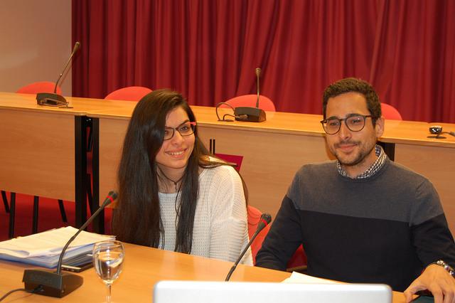 Cristina Cons y Javier Medina presentaron su experiencia en el pre-Sínodo © Conferencia Episcopal Española