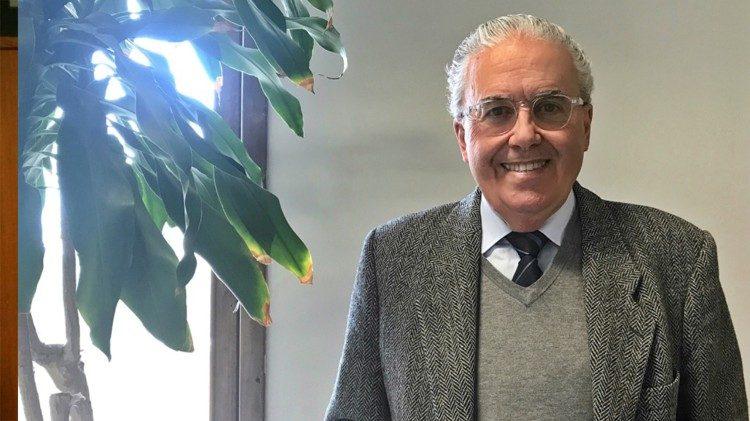 Profesor Guzmán M. Carraquiry Lecour © Vatican Media