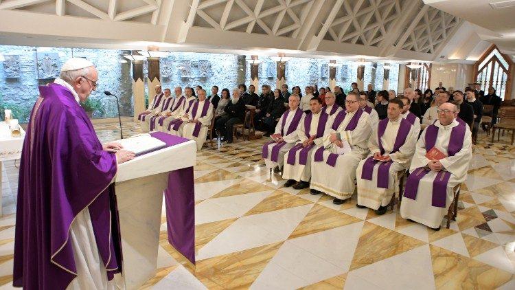 Misa en Santa Marta, tercer martes de marzo © Vatican Media