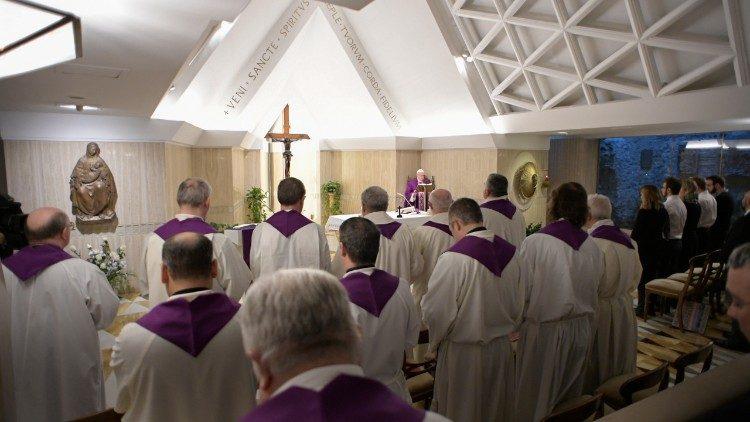 Misa en Santa Marta, 5 de marzo de 2018 © Vatican Media