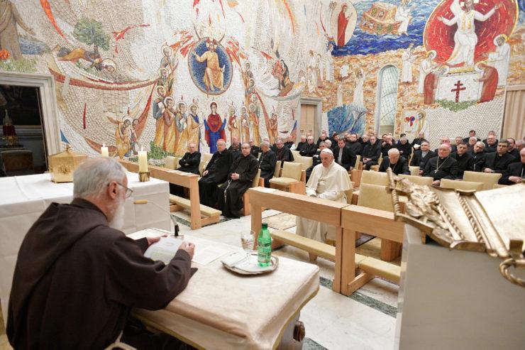 2ª predicación de Cuaresma del P. Raniero Cantalamessa © Vatican Media