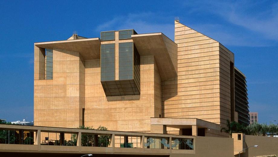 Catedral de Nuestra Señora de los Ángeles, en Los Ángeles. Wikimedia Commons