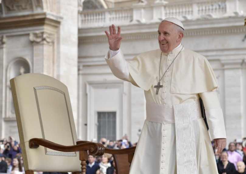 Audiencia General Del 18/04/2018 © Vatican Media