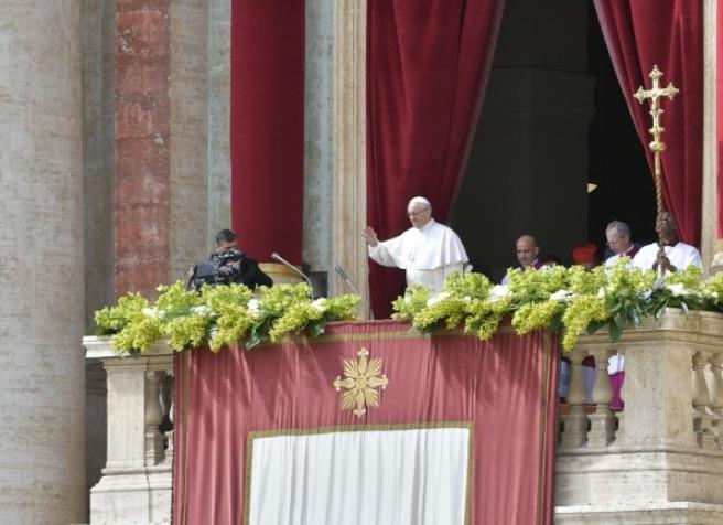 Bendición Urbi et Orbi, Pascua © Vatican News