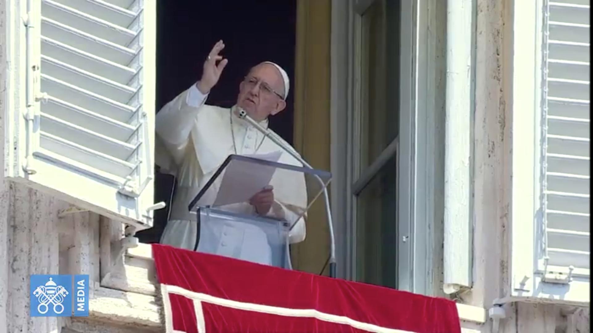 Regina Caeli 29/04/2018 Captura @ Vatican Media