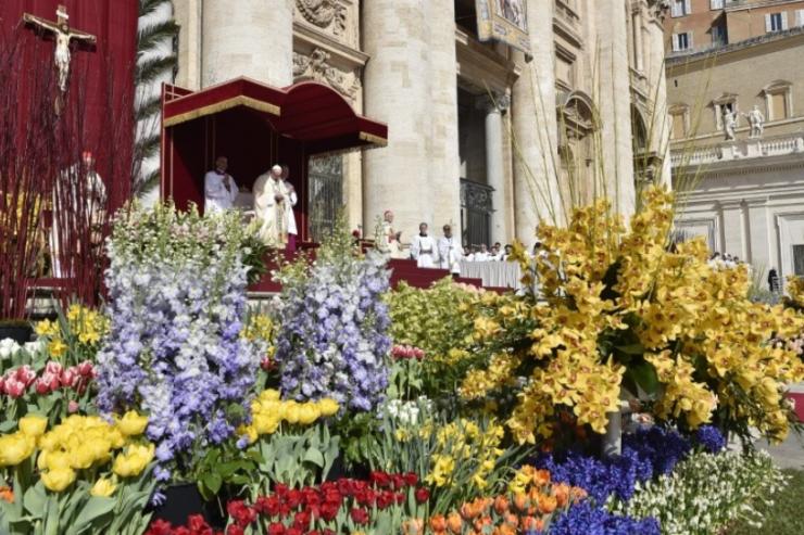 Misa De Pascua © Vatican Media