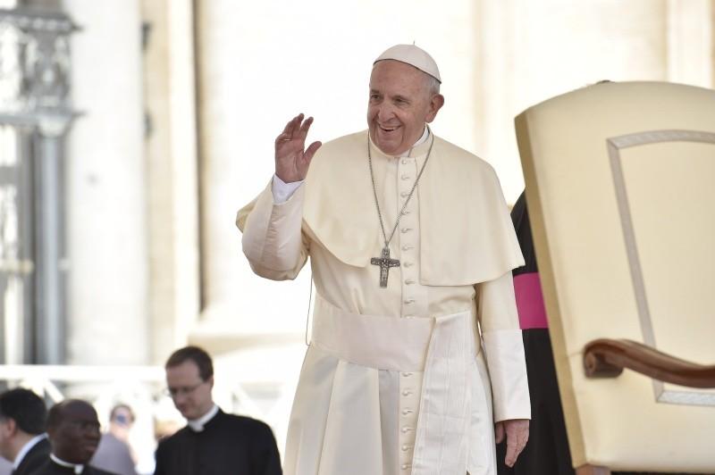 Saludo del Papa a los peregrinos de lengua árabe © Vatican Media