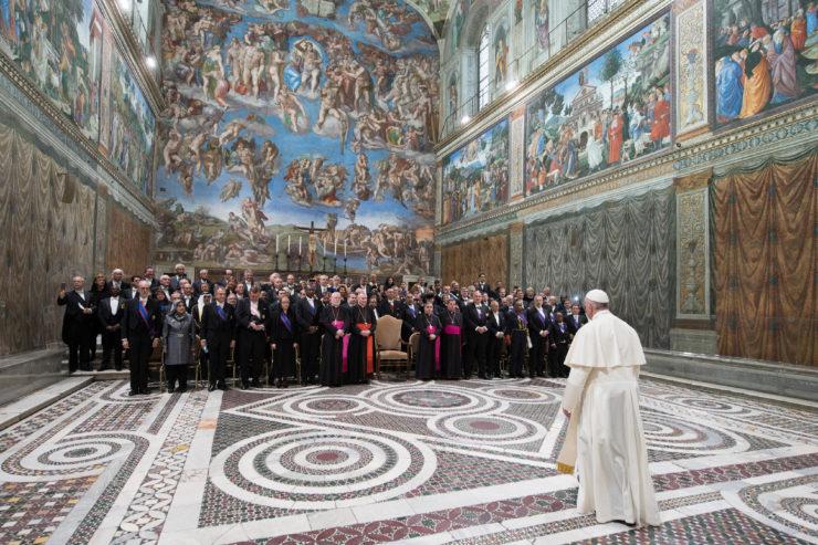 El Papa en audiencia con obispos de Estados Unidos © Vatican Media