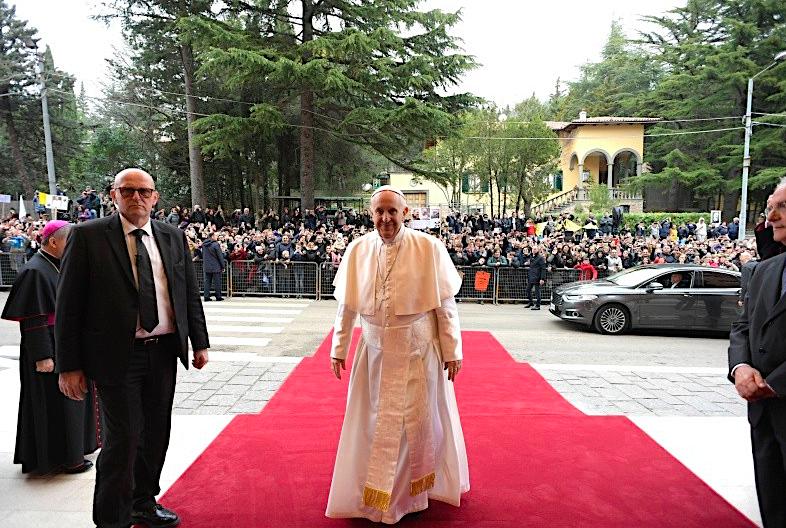 Visita pastoral del Papa Francisco © Vatican Media