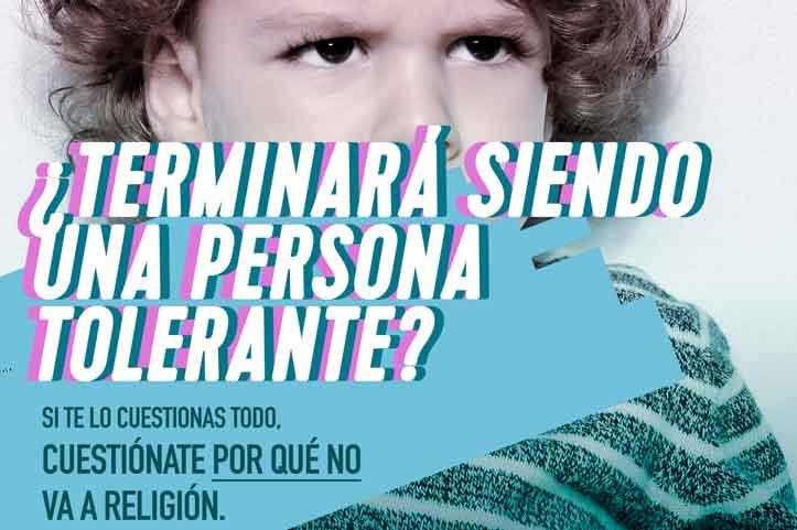"""Campaña """"Me apunto a Religión"""" © CEE"""