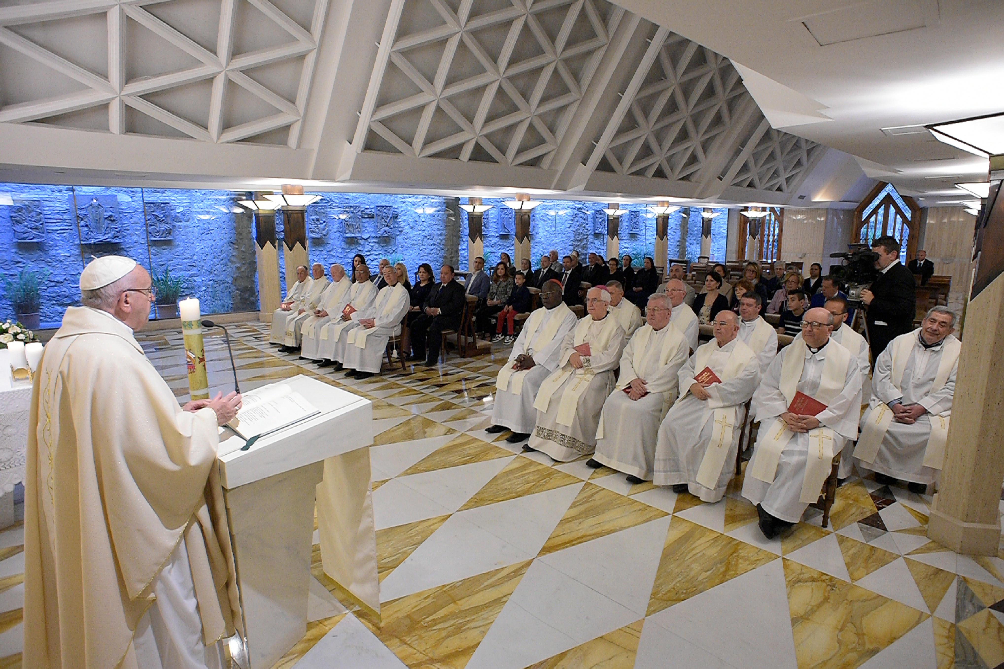 Misa en Santa Marta 27/04/2018 © Vatican Media
