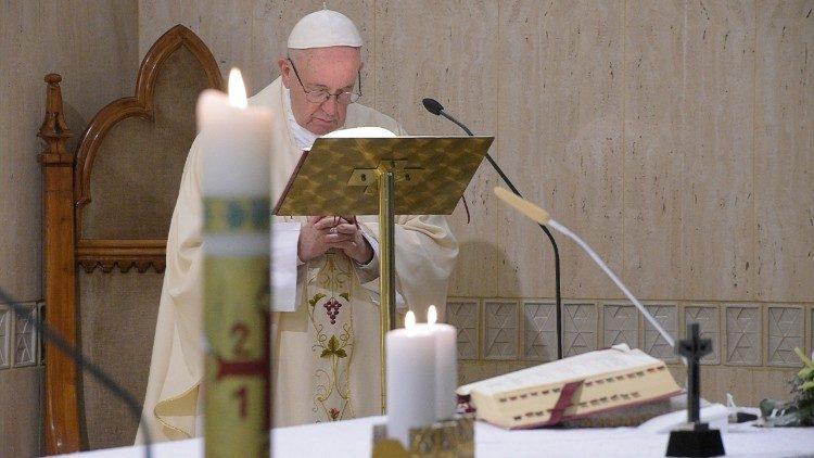 Misa del Papa en Santa Marta © Vatican Media