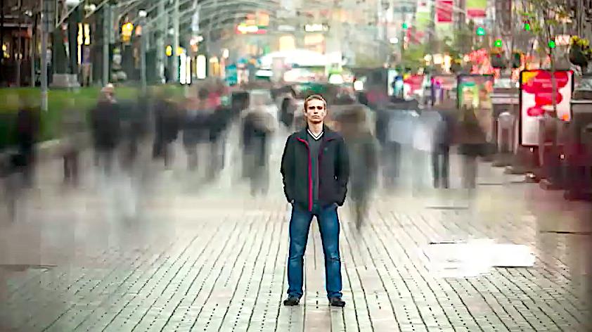 Captura de pantalla del vídeo de presentación de 'Gaudete et Exultate'. Youtube