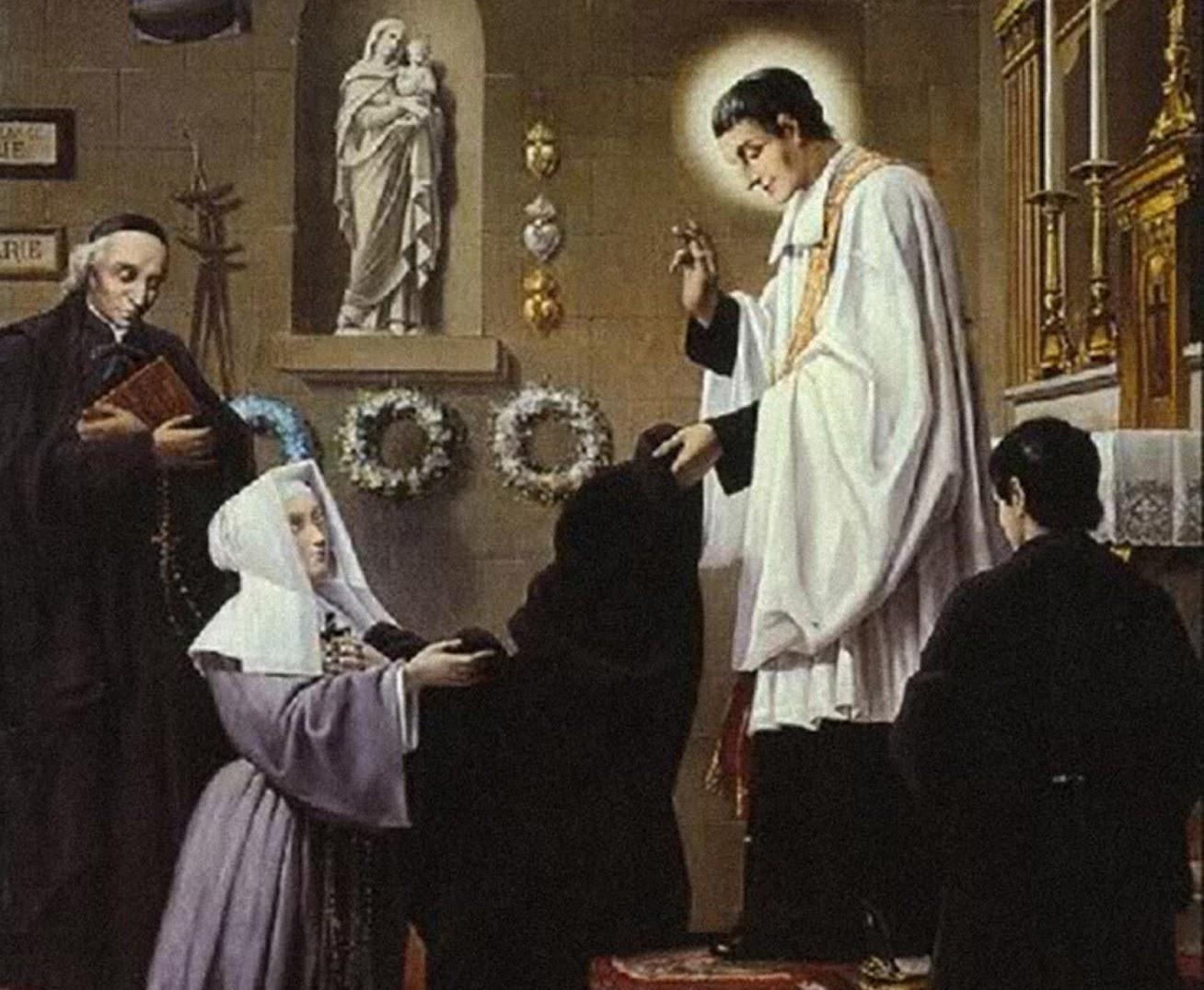 San Luis María Grignion de Montfort © Catholik-blog