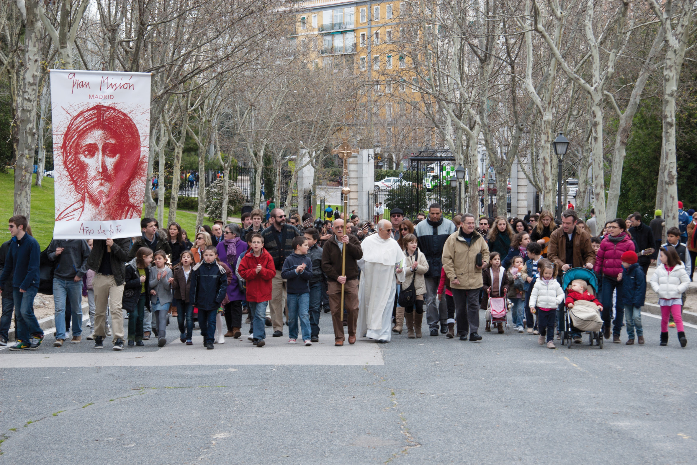 """La """"Gran Misión"""" en Madrid © Camino Neocatecumenal"""