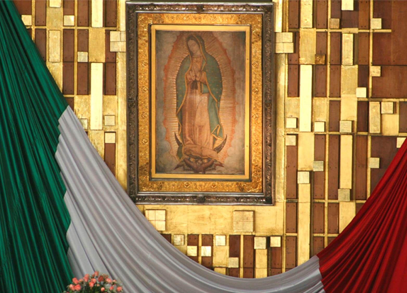 Imagen de la Virgen de Guadalupe © Pinterest