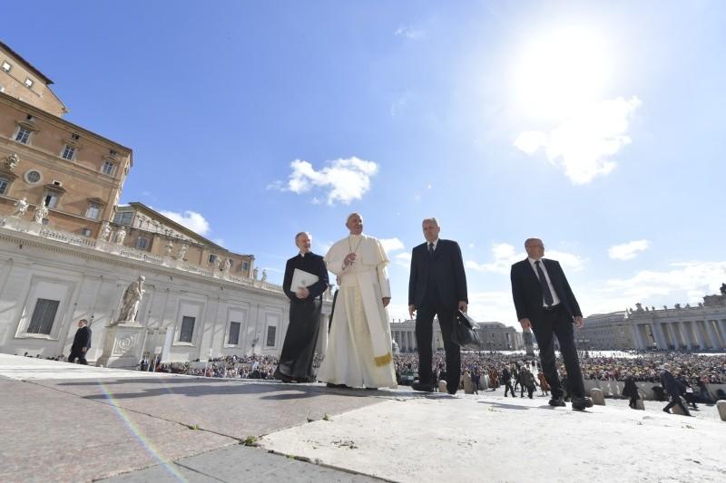 Audiencia general, 16 mayo 2018 © Vatican Media