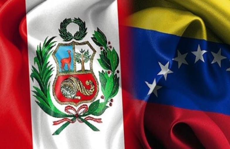 Banderas de Perú y de Venezuela © Conferencia Episcopal Peruana (CEP)