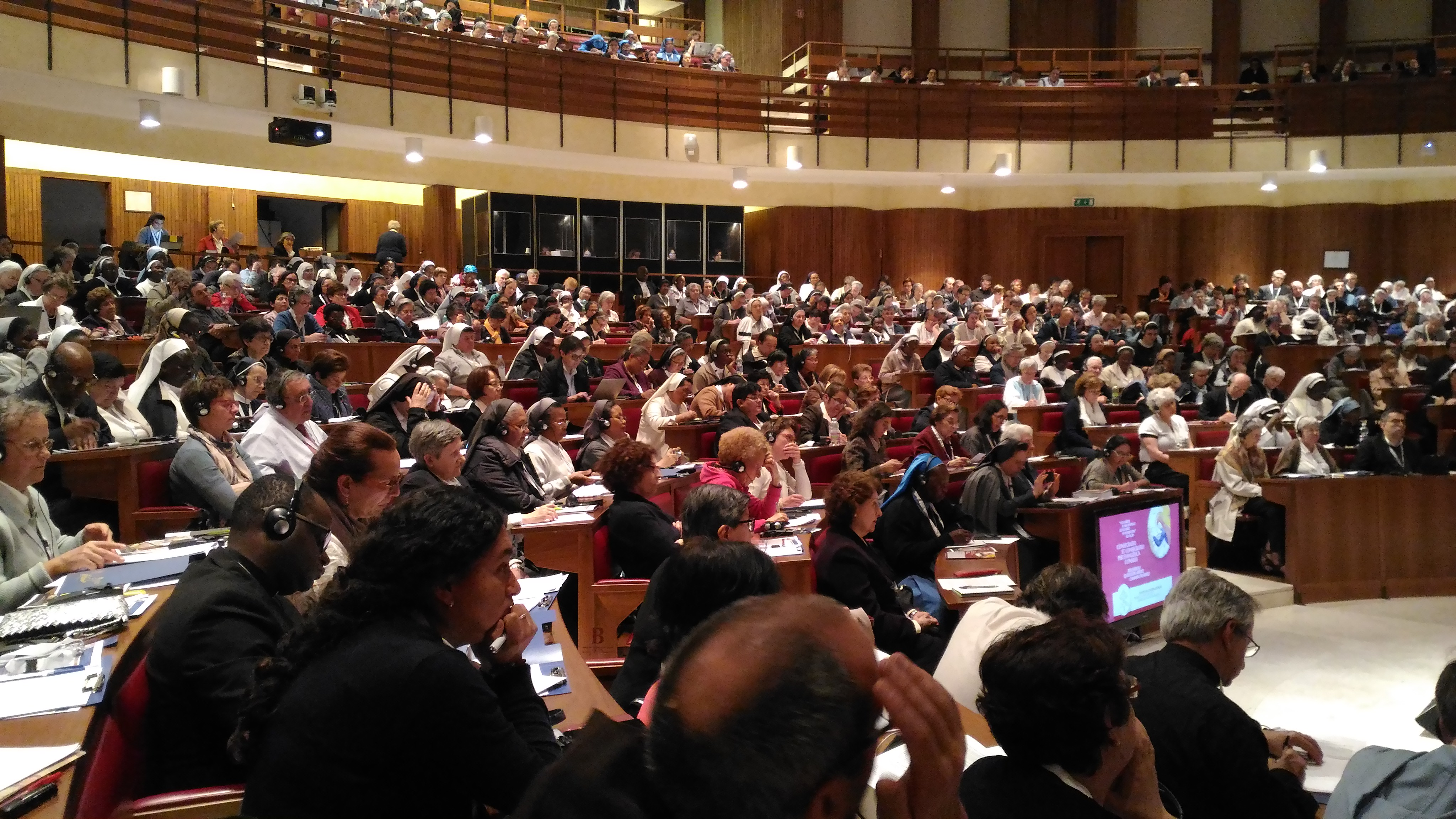 Congreso internacional de consagrados © Congregación para los Institutos de Vida Consagrada y las Sociedades de Vida Apostólica