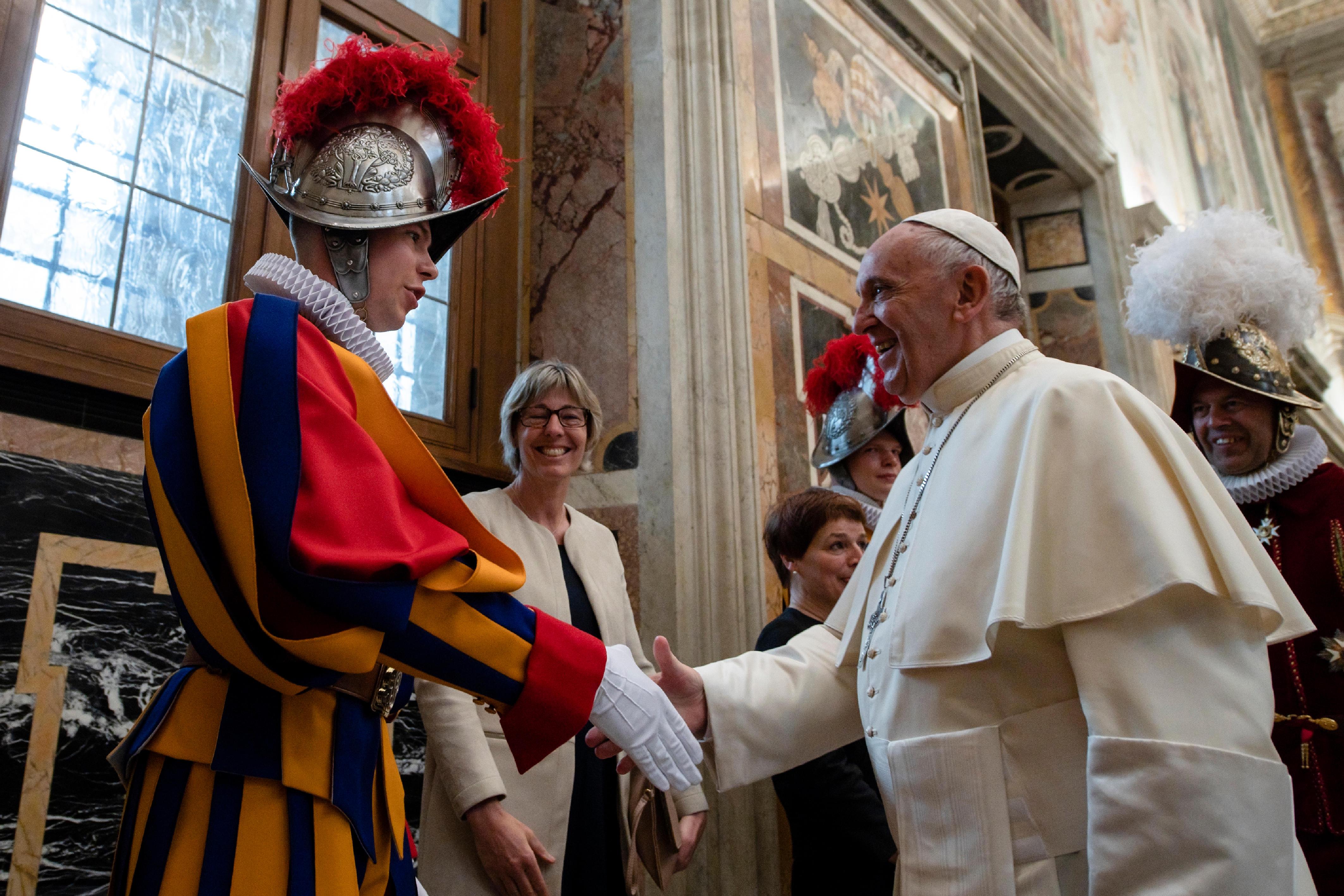 Guardia Suiza © Vatican Media