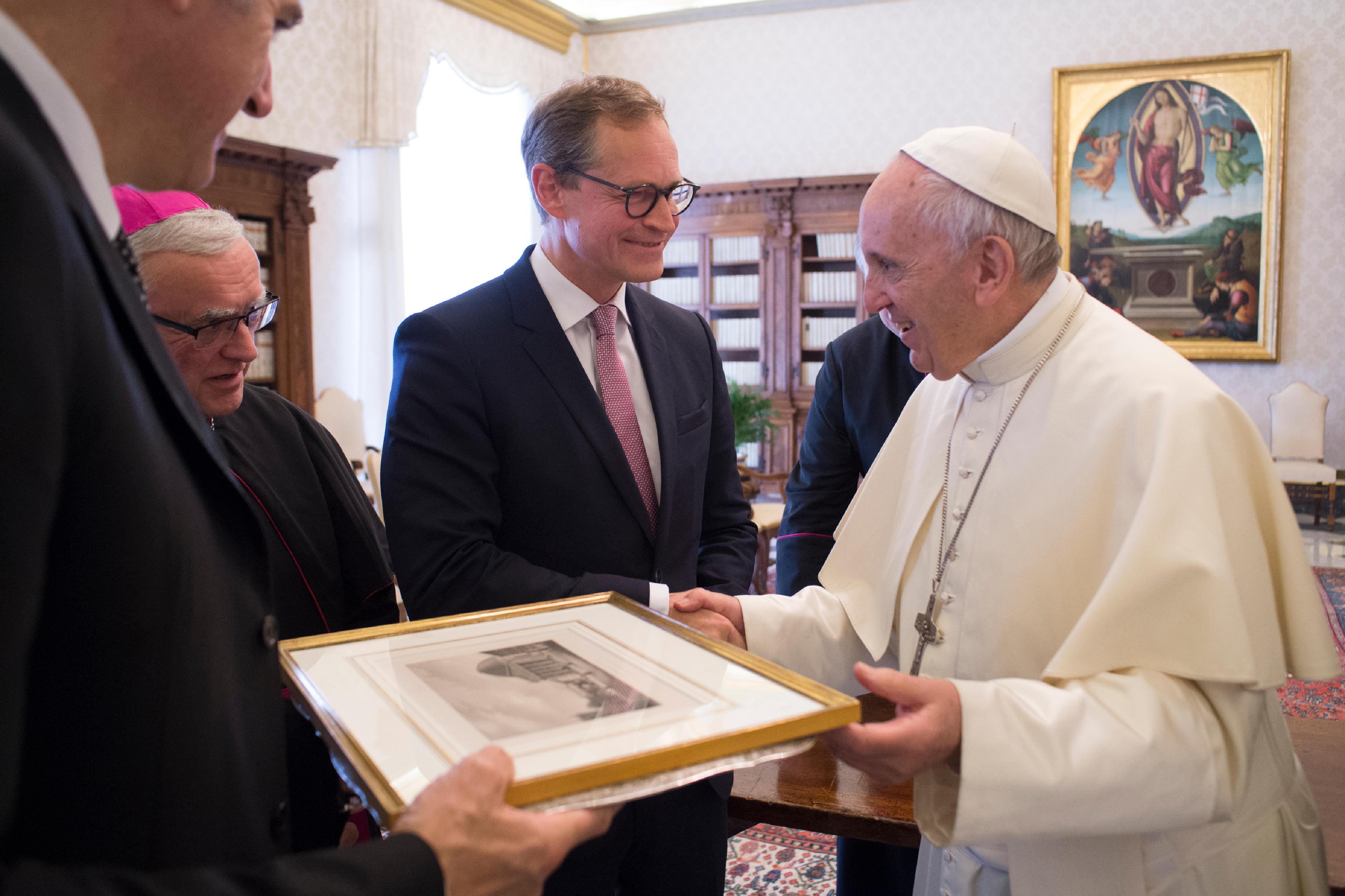 Michael Müller 26/052018 © Vatican Media