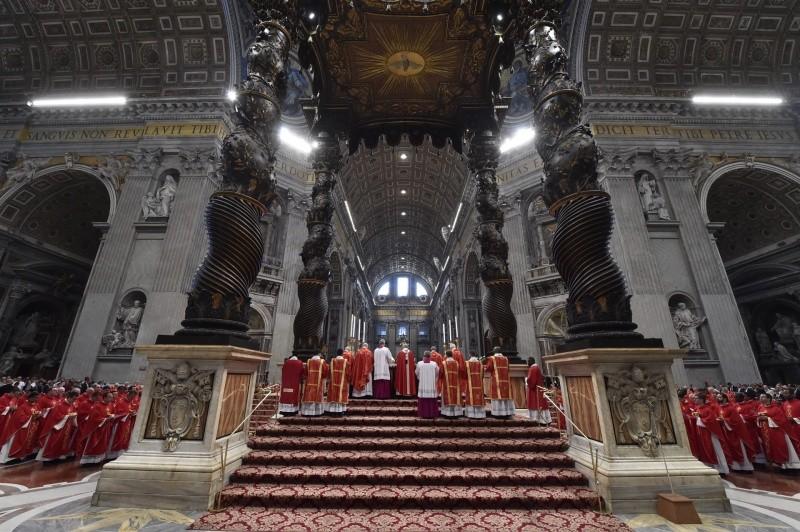 Misa de Pentecostés © Vatican Media