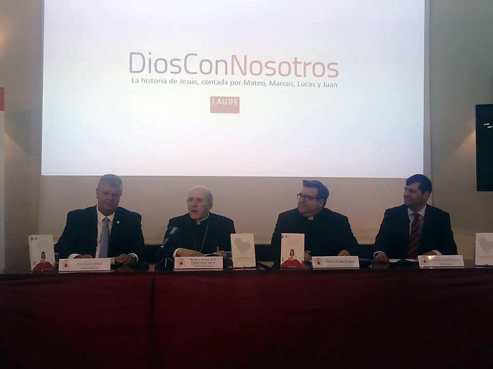 Presentación del libro 'Dios con nosotros', en Madrid © Miguel Gutiérrez