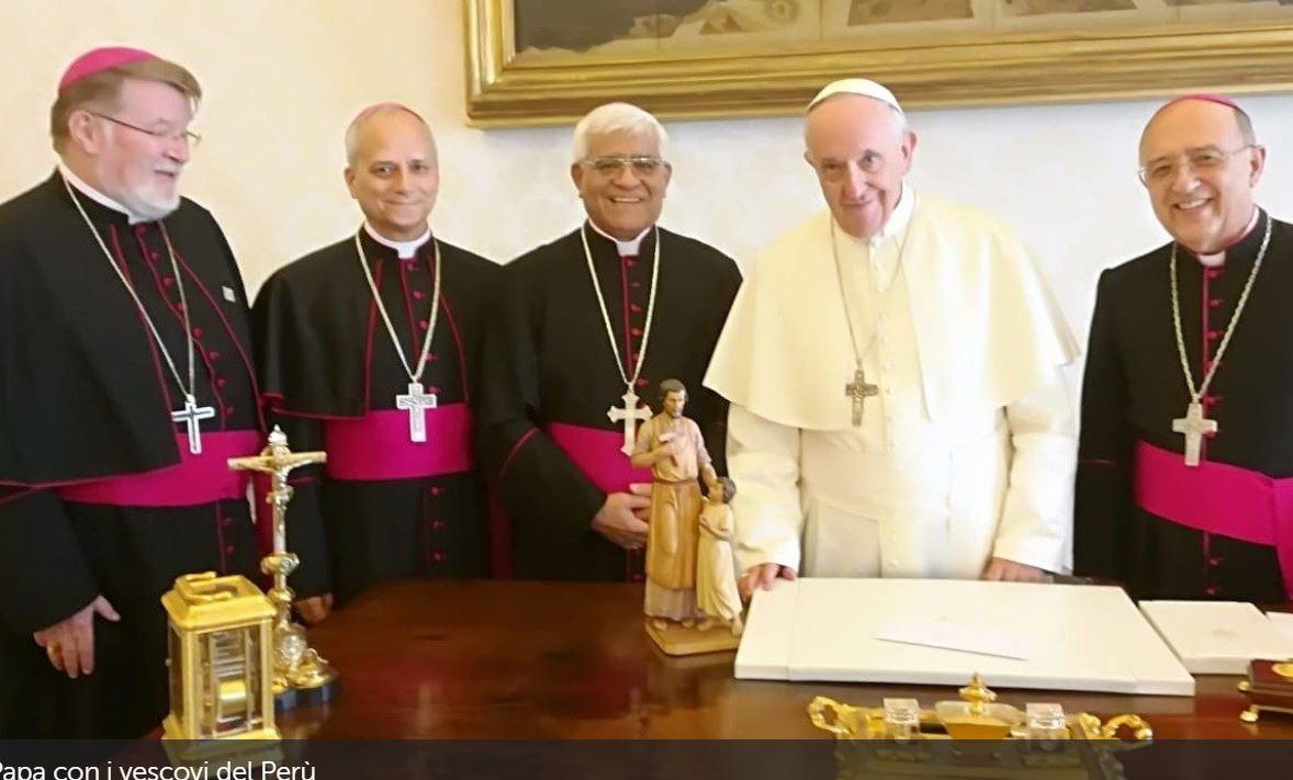 Presidencia de los obispos de Perú © Vatican News